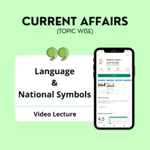 Language & National Symbols
